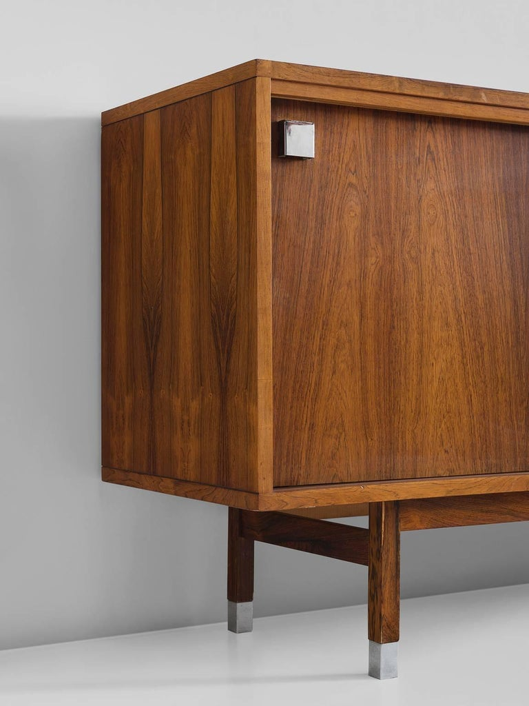 Large Alfred Hendrickx Sideboard in Rosewood, 1960s In Good Condition For Sale In Waalwijk, NL
