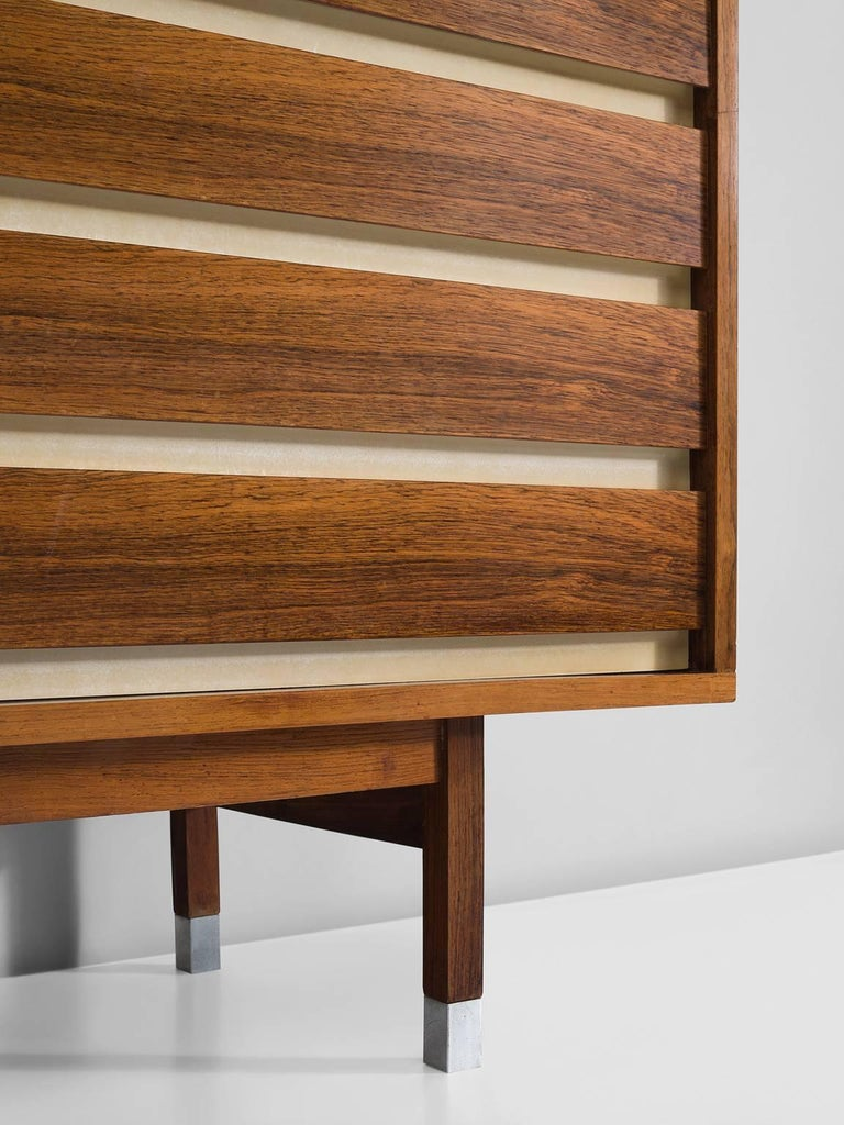 Mid-20th Century Large Alfred Hendrickx Sideboard in Rosewood, 1960s For Sale
