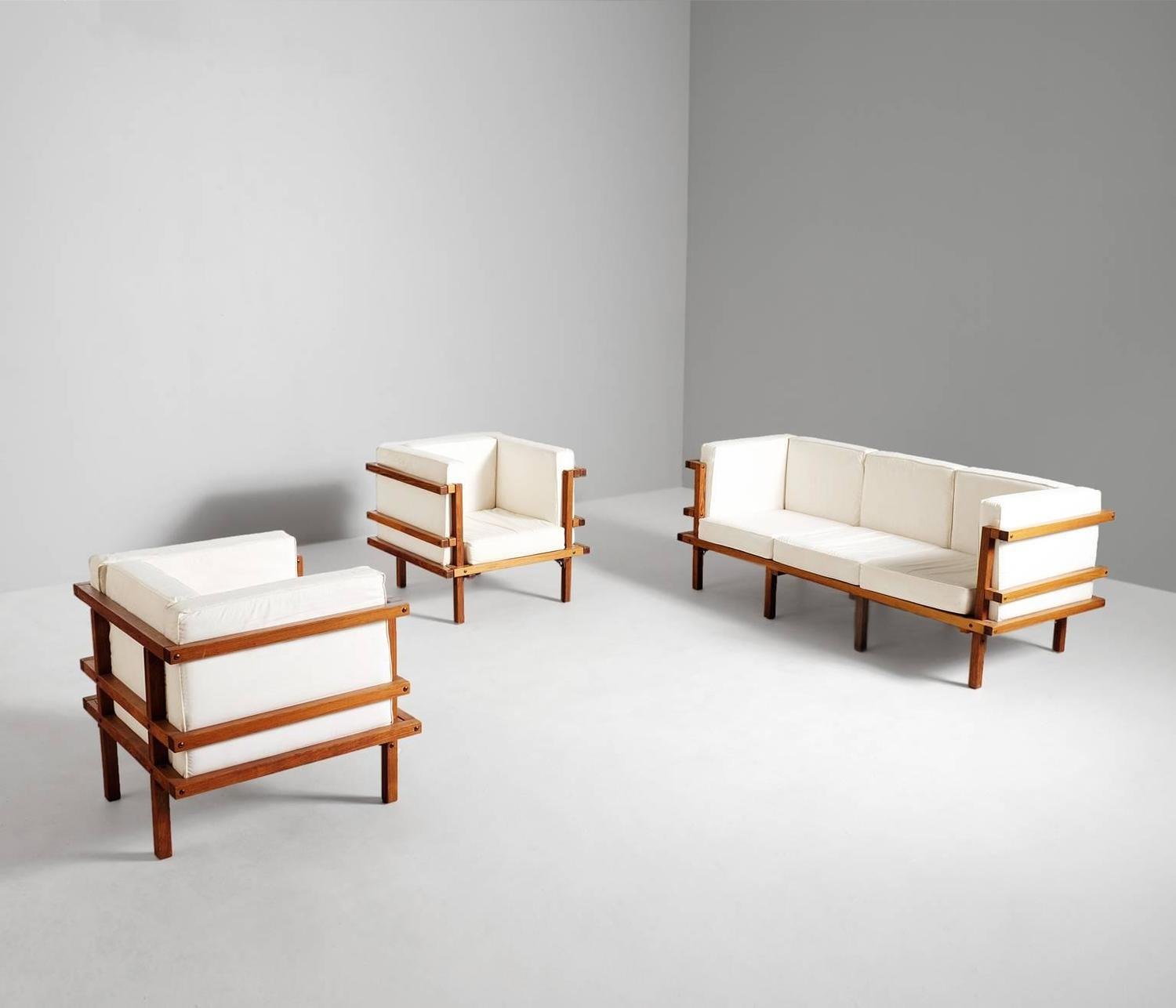 Living Room Sets For Sale Cheap: Luxurious Cubistic Living Room Set For Sale At 1stdibs