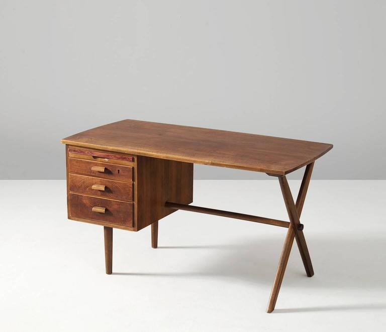 Small Walnut Desk For Sale At 1stdibs