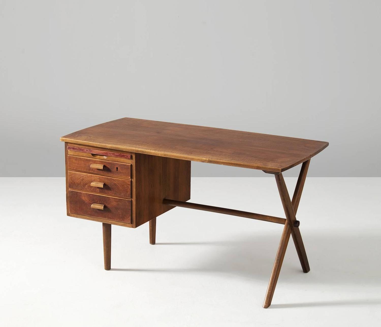 Small Walnut Desk Small Walnut Desk For Sale At 1stdibs Walnut Desk Home Office Furniture For