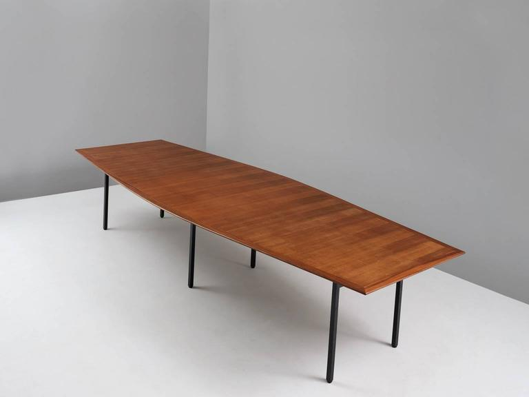 large dining table by knoll for sale at 1stdibs