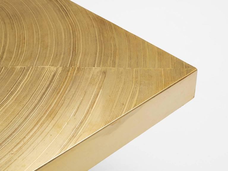 Lova Creation Brass and Gemstone Coffee Table 4