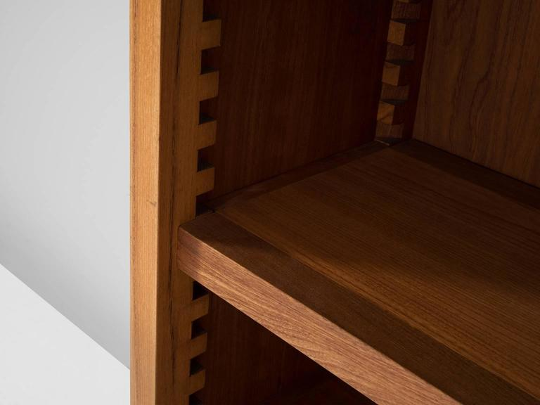 Mid-20th Century Pierre Chapo Bookcase in Solid Elm For Sale