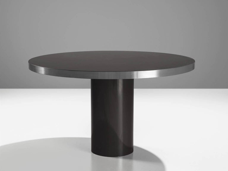Small circular pedestal dining table for sale at 1stdibs for Small pedestal dining table