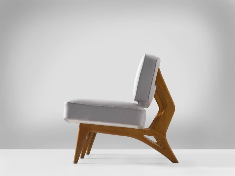 Brazilian Maple Settee by Móveis Cimo, 1950s 2