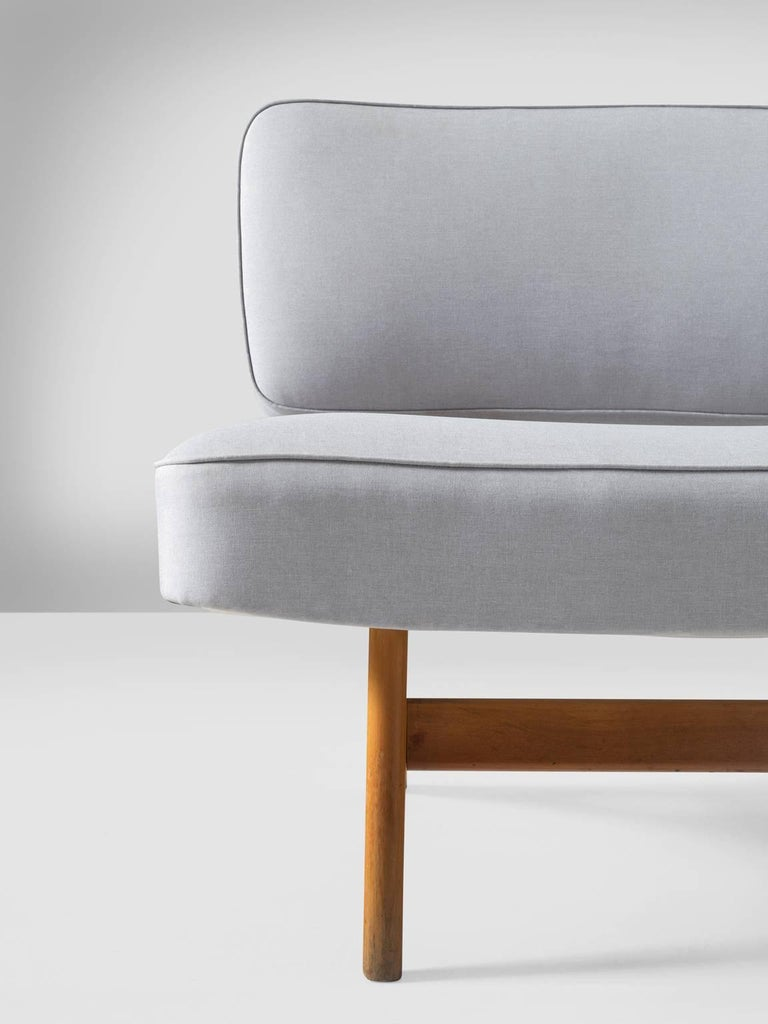 Brazilian Maple Settee by Móveis Cimo, 1950s 6
