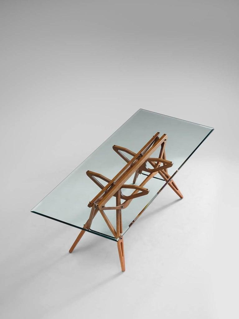 Carlo Mollino By Zanotta Reale Table At 1stdibs