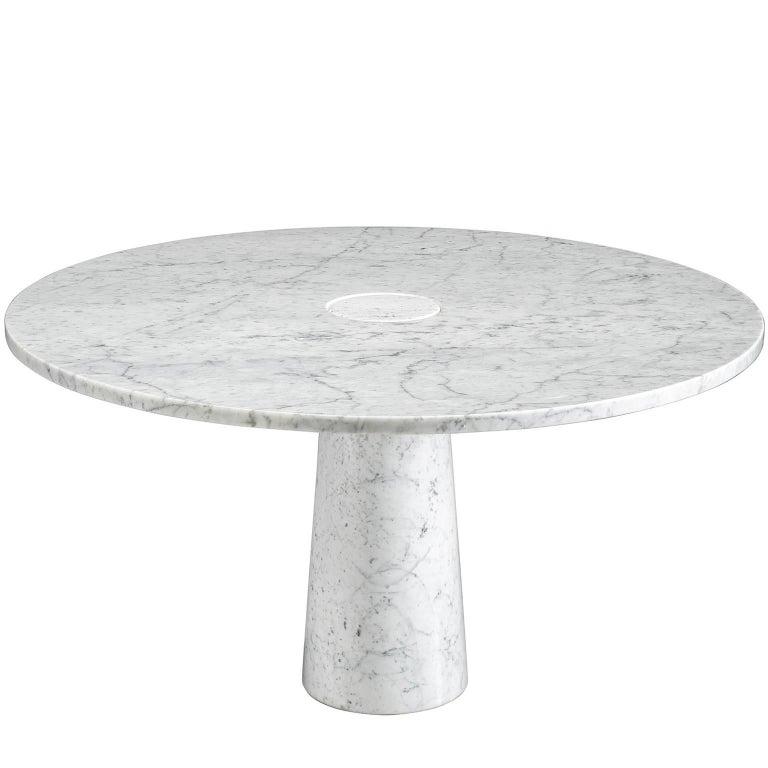 Angelo Mangiarotti Postmodern Marble Centre Table, 1970s