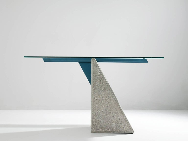 Giovanni Offredi Dining Table for Saporiti In Good Condition For Sale In Waalwijk, NL
