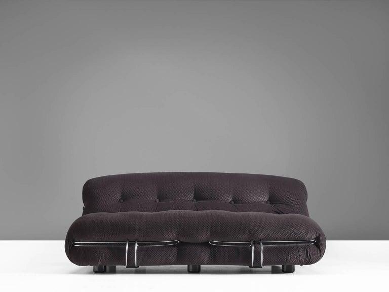 Post-Modern Afra & Tobia Scarpa 'Soriana' Sofa