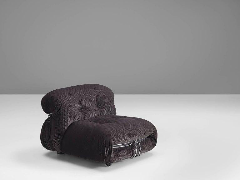 Post-Modern Afra & Tobia Scarpa 'Soriana' Lounge Chair