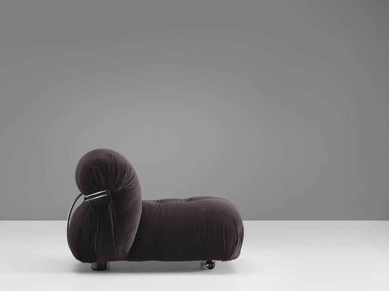 Italian Afra & Tobia Scarpa 'Soriana' Lounge Chair