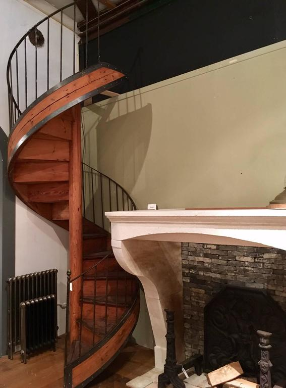 Beautiful Spiral Staircase In A Beautiful Warm Shade Of Pinewood. The  Staircase Was Made In