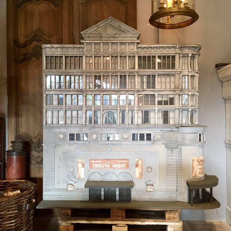 Beautiful Large 1980s Architectural Model of a Theatre 3