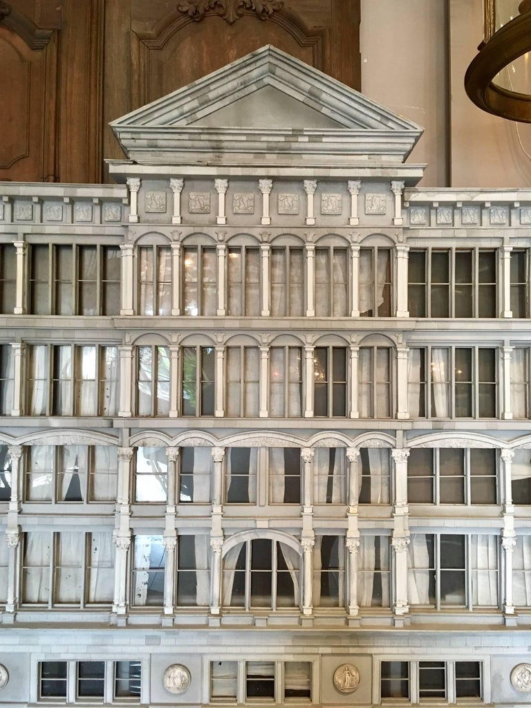 Beautiful Large 1980s Architectural Model of a Theatre 4