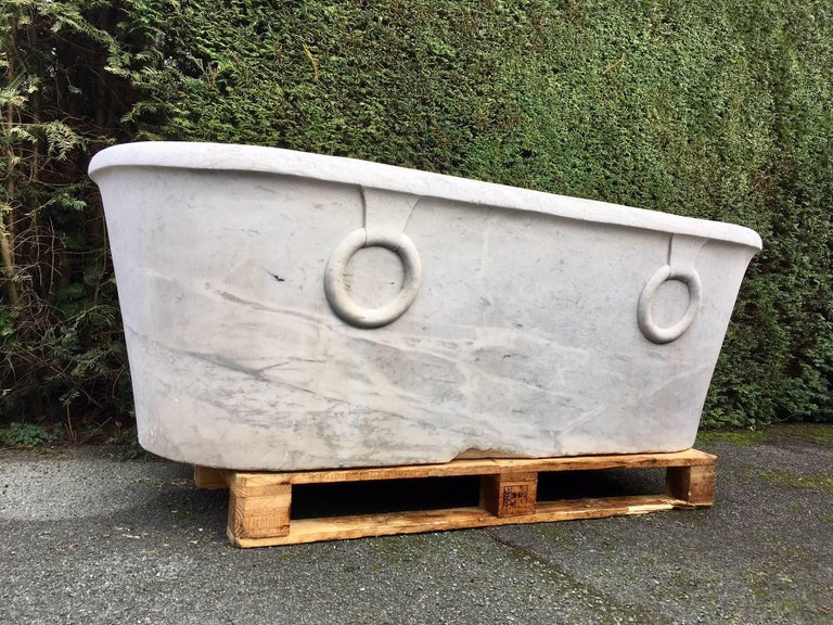 Antique Marble Bathtub For Sale at 1stdibs