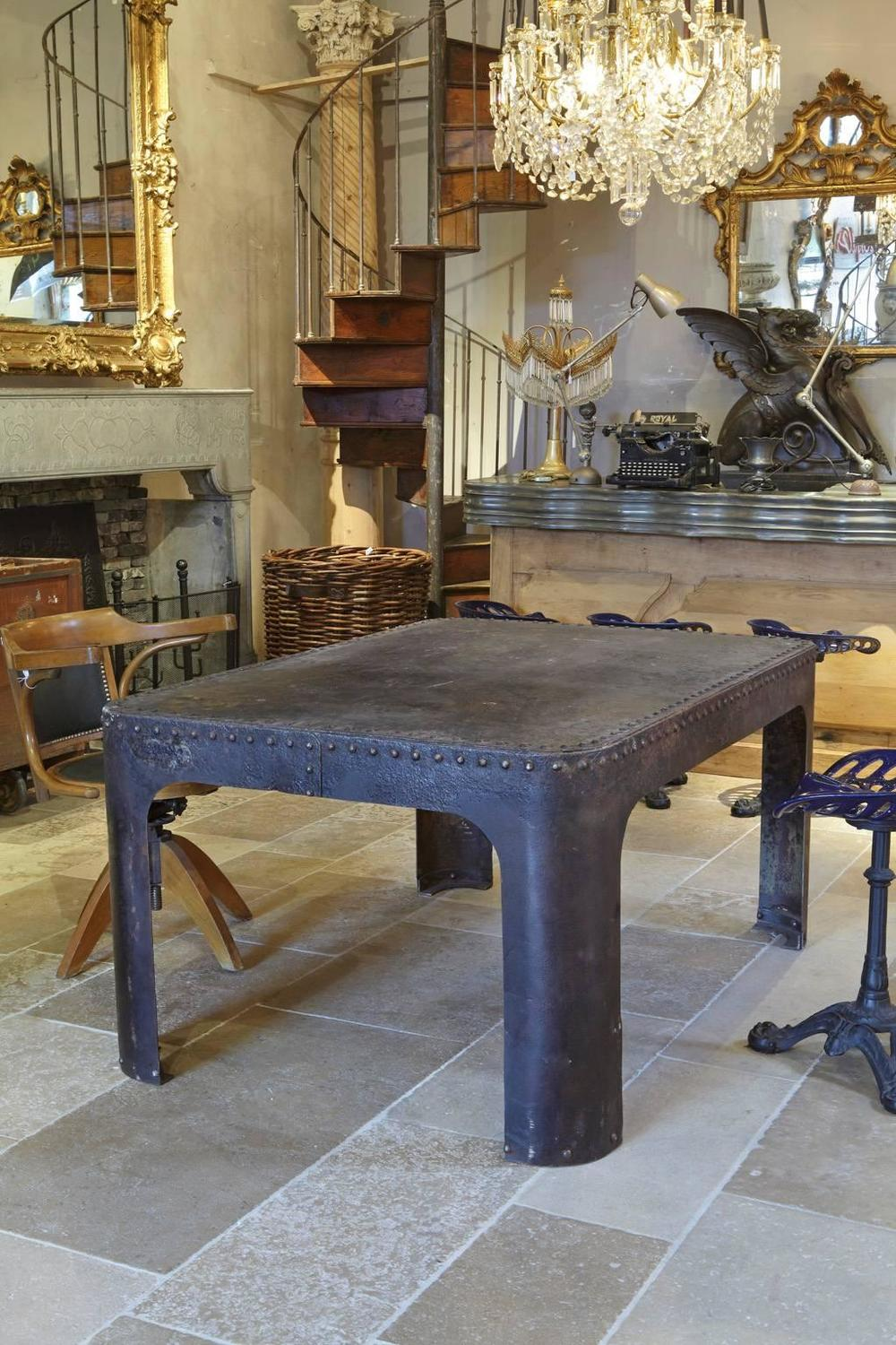 how to make riveted furniture