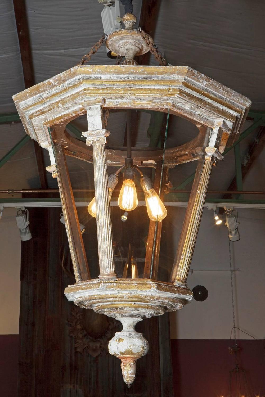Large Decorative Flower Pots: Large Decorative Parcel-Gilt Hall Lantern For Sale At 1stdibs