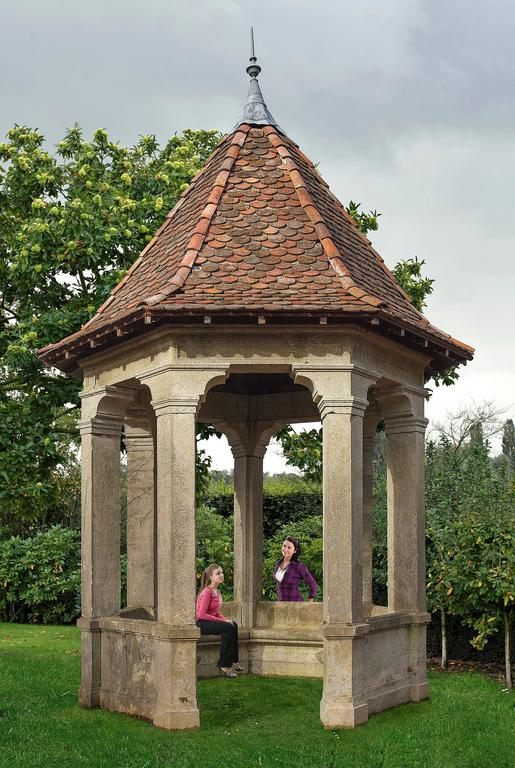 Magnificent french 19th century limestone garden gloriette for French style gazebo
