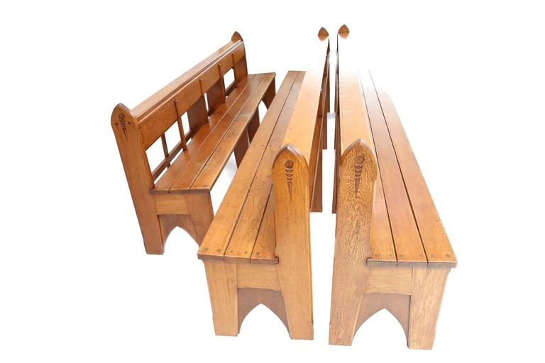 Amsterdam school style benches no 2 for sale at 1stdibs for Garcia s jewelry bench