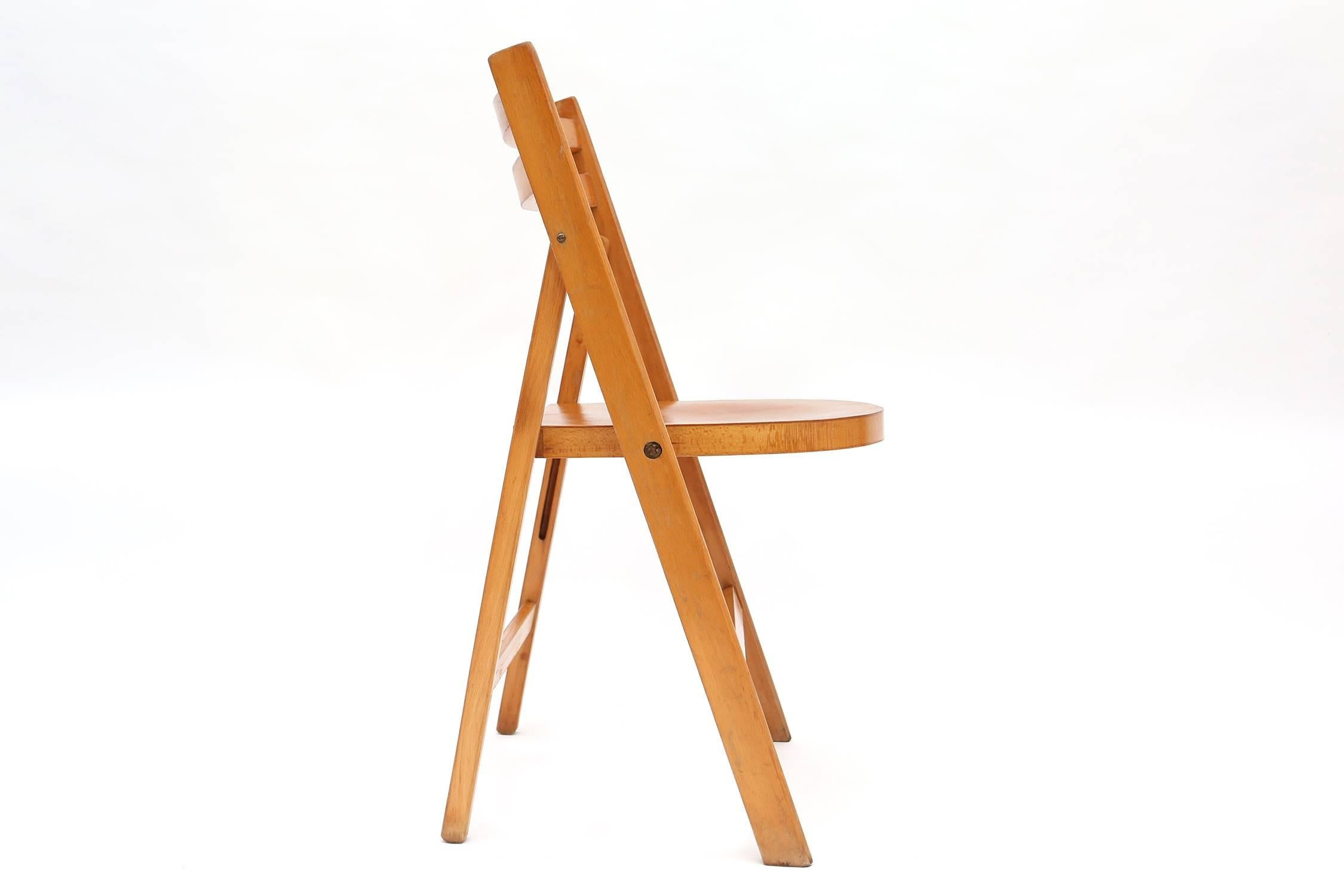 Antieke Lounge Stoel.Wooden Folding Chairs 11 For Sale On 1stdibs