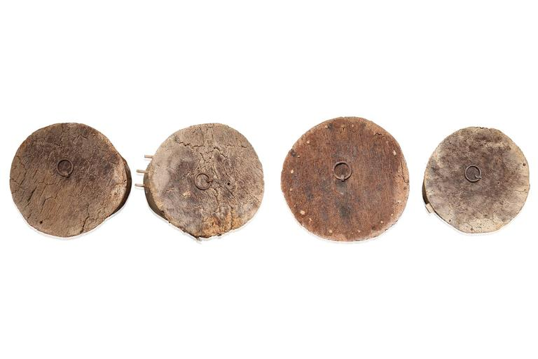 Spanish 18th Century Wabi Sabi Cork Buoys