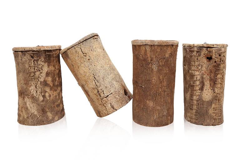 Primitive 18th Century Wabi Sabi Cork Buoys