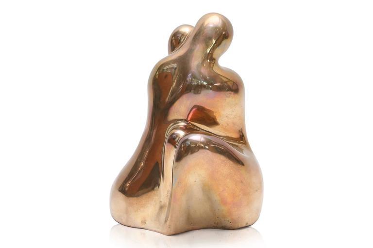 Post-Modern Bronze Sculpture by Tanari For Sale