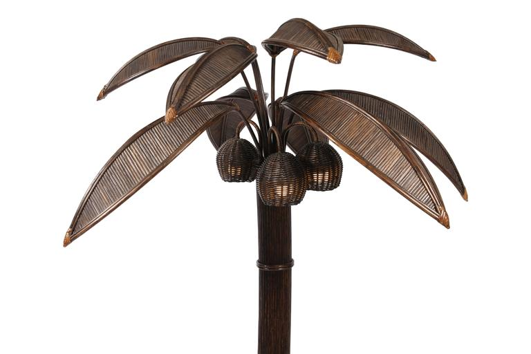 Mario Lopez Palm Tree Floor Lamp 6
