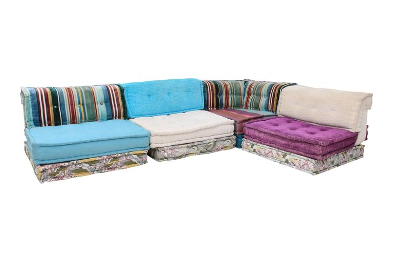 Mah jong roche bobois sectional corner sofa at 1stdibs for Mah jong sofa