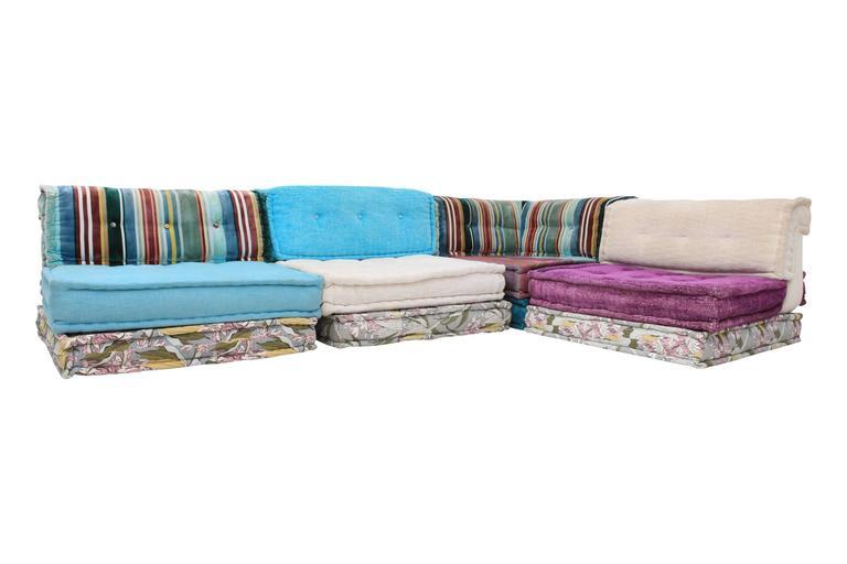 mah jong roche bobois sectional corner sofa at 1stdibs. Black Bedroom Furniture Sets. Home Design Ideas