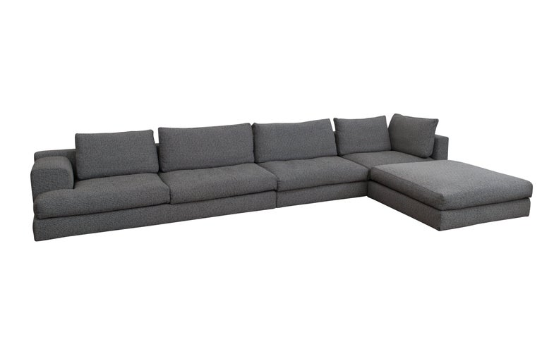 Cassina 'Miloe' Modular Sofa by Piero Lissoni In Excellent Condition For Sale In Antwerp, BE