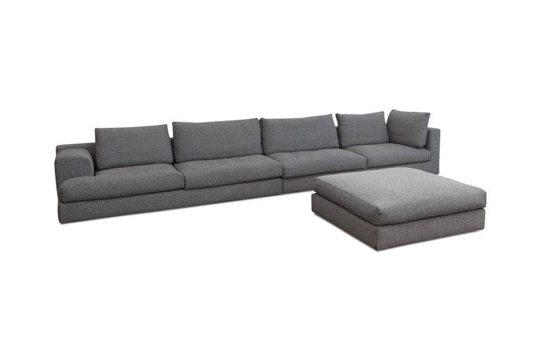 Contemporary Cassina 'Miloe' Modular Sofa by Piero Lissoni For Sale