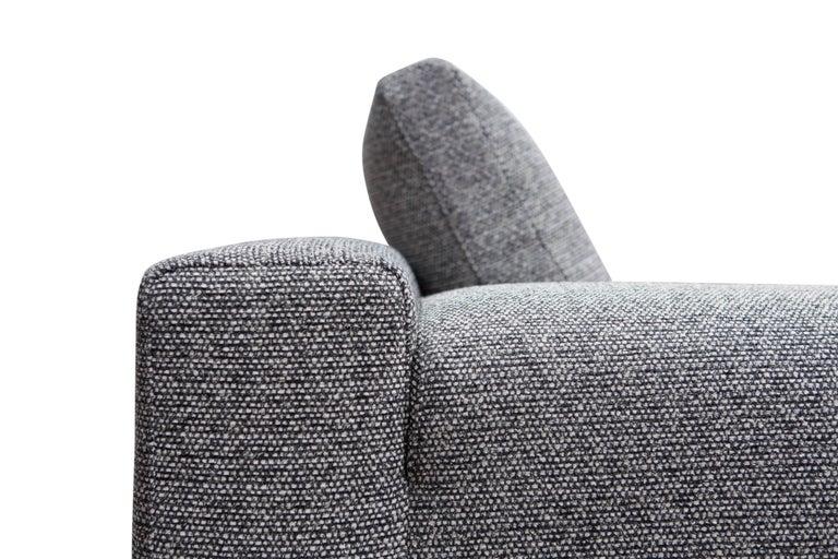 Minimalist Cassina 'Miloe' Modular Sofa by Piero Lissoni For Sale