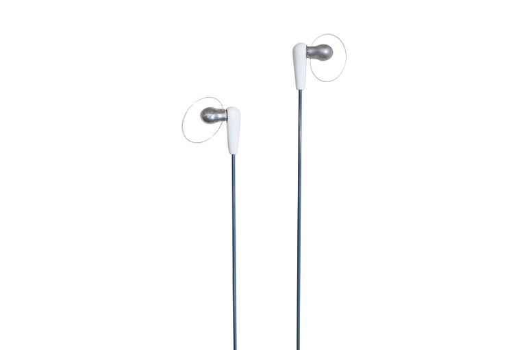 Flos 'Bip-Bip' Floor Lamps by Achille Castiglioni In Good Condition For Sale In Antwerp, BE