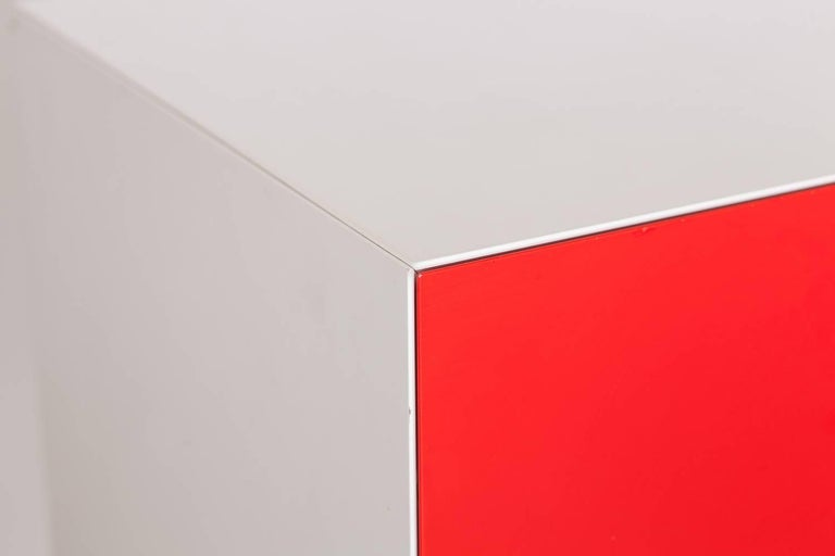 Contemporary Mondriaan De Stijl Cabinet for Pastoe For Sale