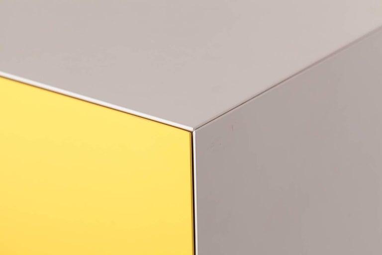 Metal Mondriaan De Stijl Cabinet for Pastoe For Sale