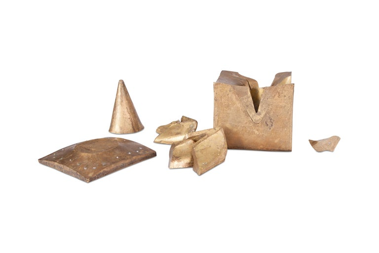 Solid Brass Cube Shaped Puzzle / Artwork For Sale 8