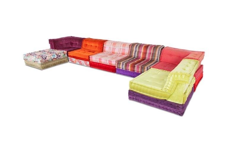 Mah Jong Modular Composition Sofa in Missoni Home for Roche Bobois For Sale 9