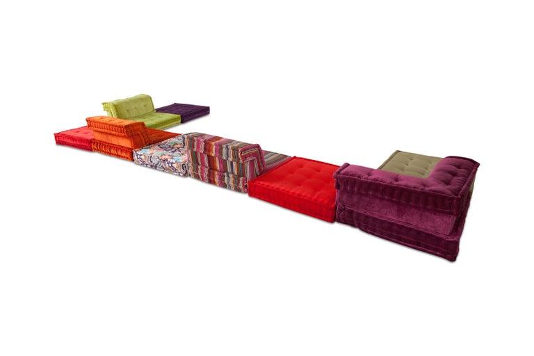 Mah Jong Modular Composition Sofa in Missoni Home for Roche Bobois For Sale 6