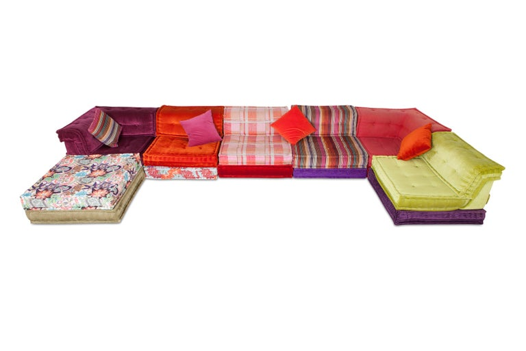 Mah Jong Modular Composition Sofa in Missoni Home for Roche Bobois In Good Condition For Sale In Antwerp, BE
