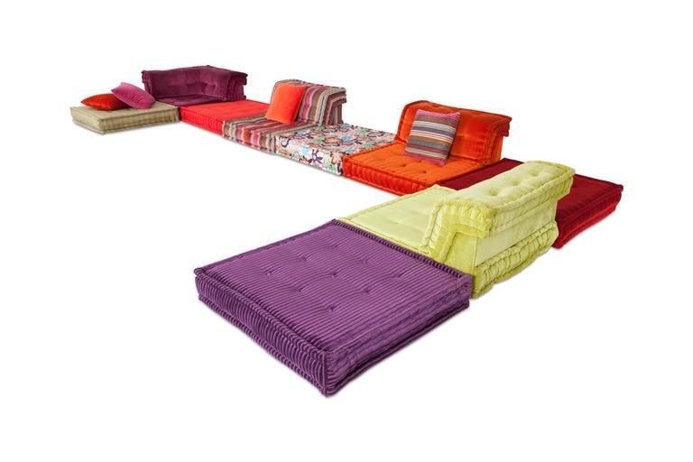 Mah Jong Modular Composition Sofa in Missoni Home for Roche Bobois For Sale 4