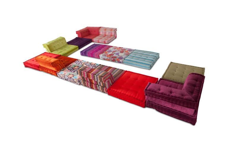Mah Jong Modular Composition Sofa in Missoni Home for Roche Bobois For Sale 7