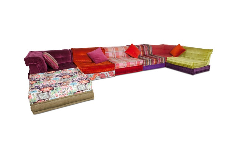 Contemporary Mah Jong Modular Composition Sofa in Missoni Home for Roche Bobois For Sale
