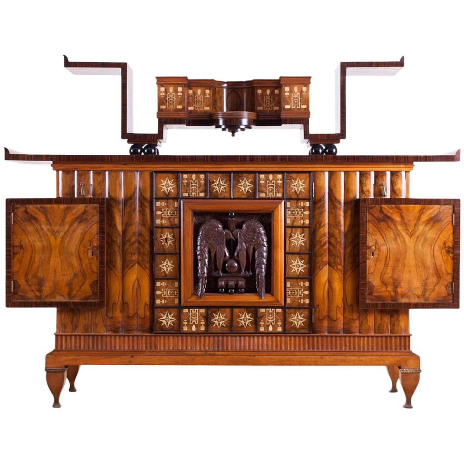 8884ad271c51b Osvaldo Borsani Art Deco Credenza For Sale at 1stdibs