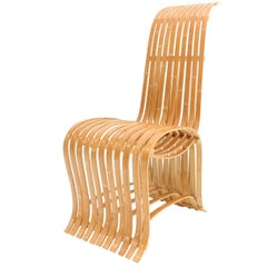 Midcentury Sculptural Bamboo Chair