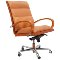Postmodern Luxury Manager's Desk Chair 'Casablanca' by Jaime Tressera, 1987