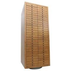 Postmodern Memphis Style Multi-Drawer Cabinet by Frans Van Praet, 1980s