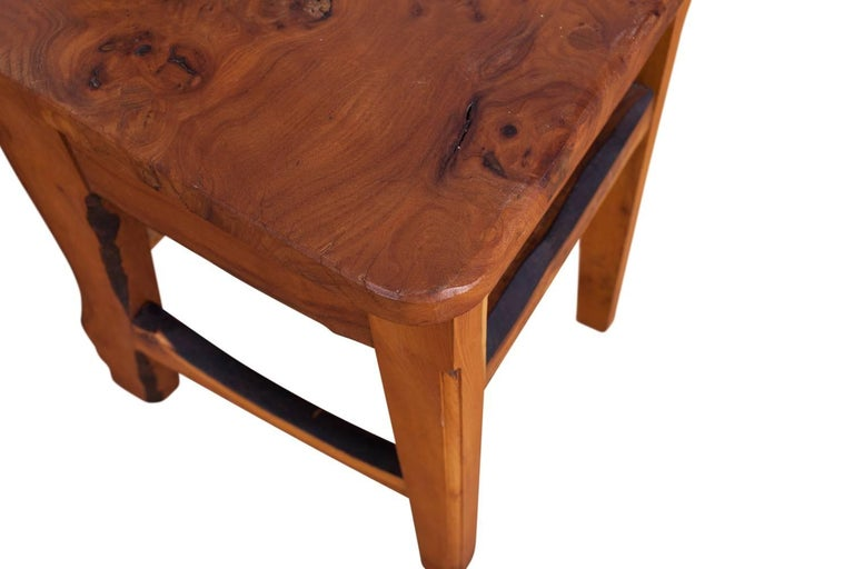 Mid-Century Modern Wabi Sabi Dining Table and Chairs in the Style of Nakashima 11